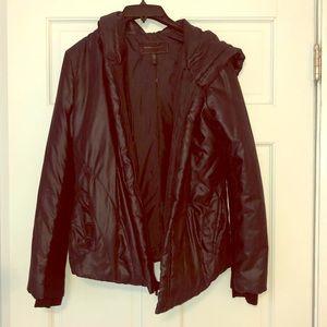 BCBG Black Puffer Coat